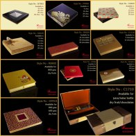 Bright, welcoming color tones are a deliberate choice for these rigid and folding paper cardboard boxes from Frescoes